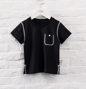 Stitched tee
