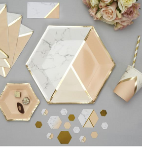 Marble combo tableware