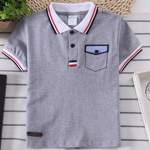 Stitched pocket polo