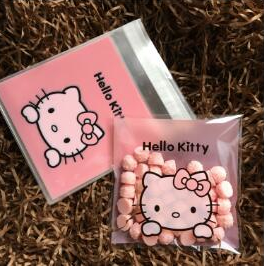 Hello Kitty cookie bag 100 pc