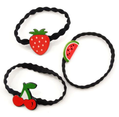 Fruit hair tie