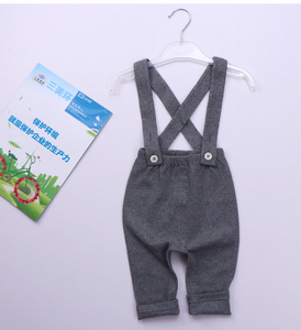 Ribbed overalls