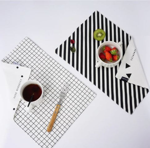 Double sided placemat