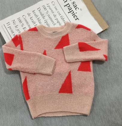 Triangle sweater