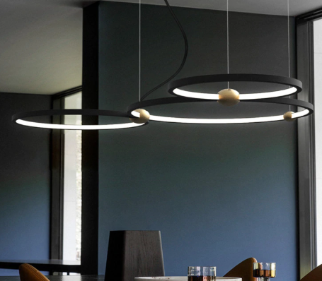 Circle pendant lighting