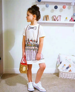 Ice cream dress /tee