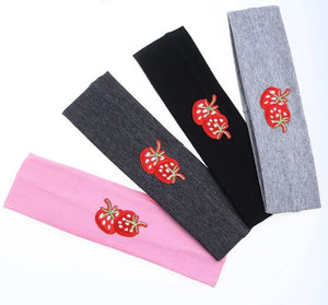 Strawberries headband