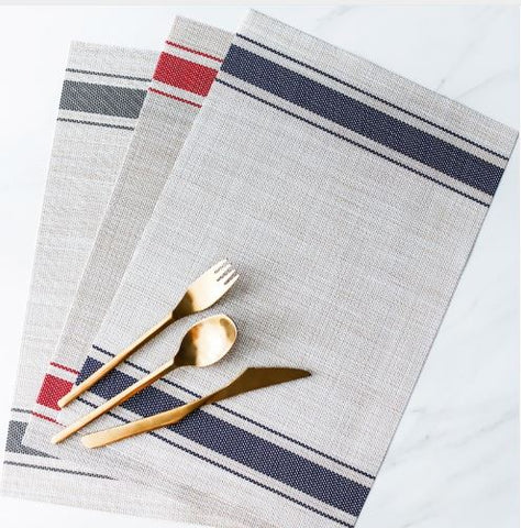 Stripe placemat
