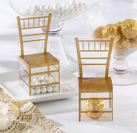 Chair favor box 12 pc