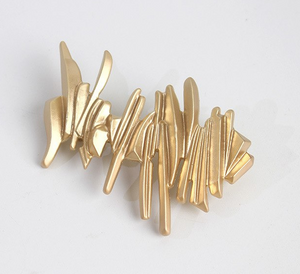 Abstract scribble hair clip