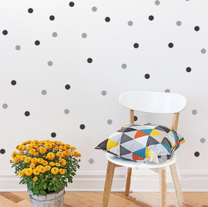 Dots wall decal