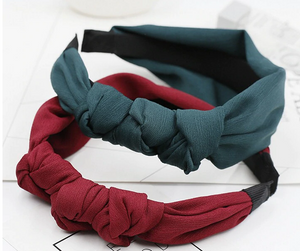 Triple knot headband