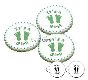 It's a boy/girl cookie stencils