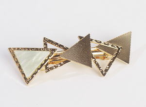 Triangles hair clip