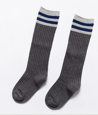 Ribbed sport socks