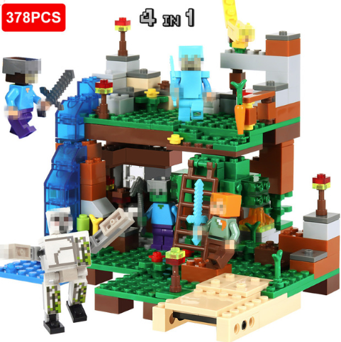 378 pc action set building blocks