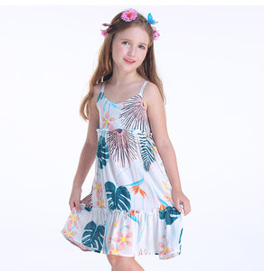 Printed beach dress