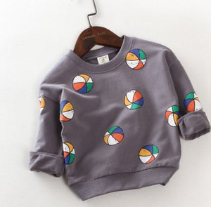 Beach ball sweatshirt