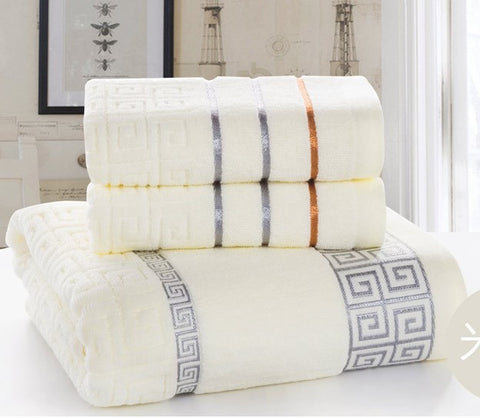 3 pc bath towel set