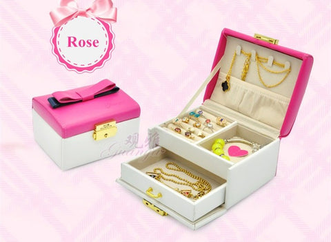 Bow jewelry box