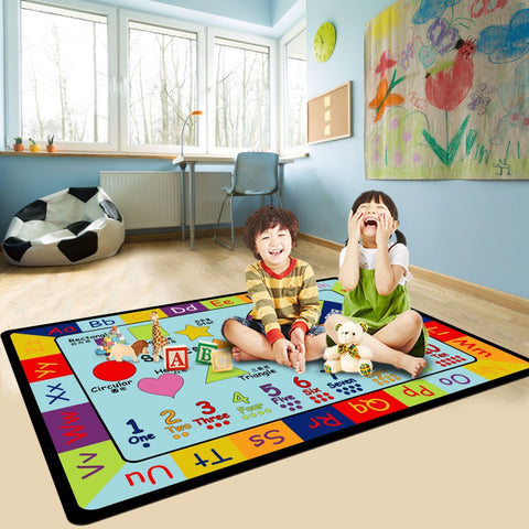Educational kids carpet