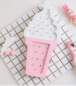 Ice cream LED lamp