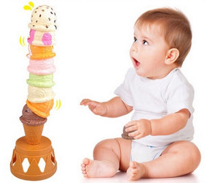 Ice cream stacking game