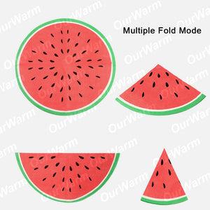 40 pc watermelon napkins
