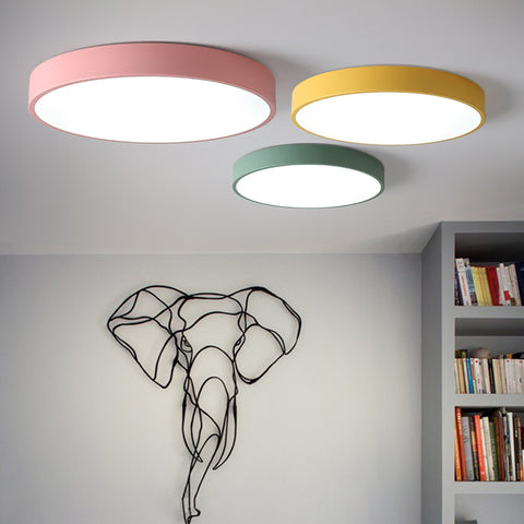 Round ceiling lights