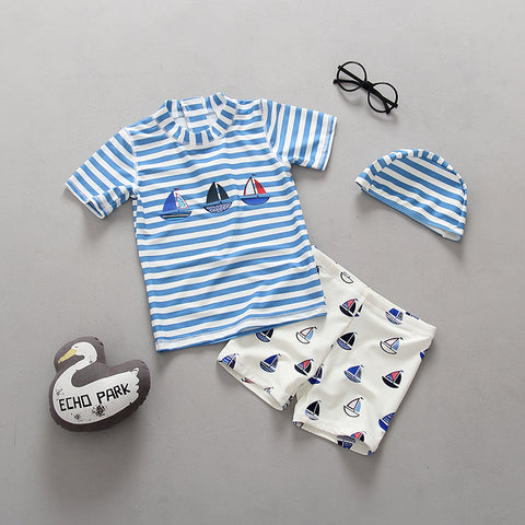 Sailboat swim set