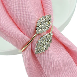 Leaves napkin ring 10 pc