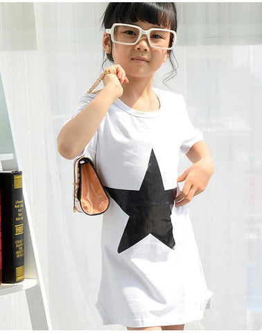Star t-shirt dress