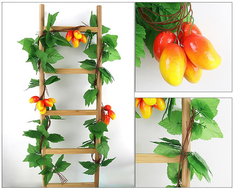 5 pc hanging fruit vine
