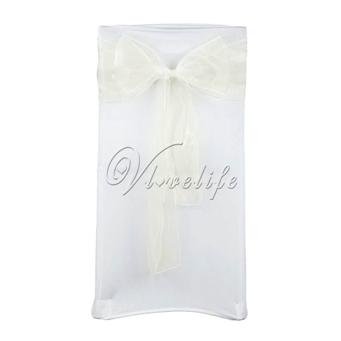 Organza chair sash 100 pcs