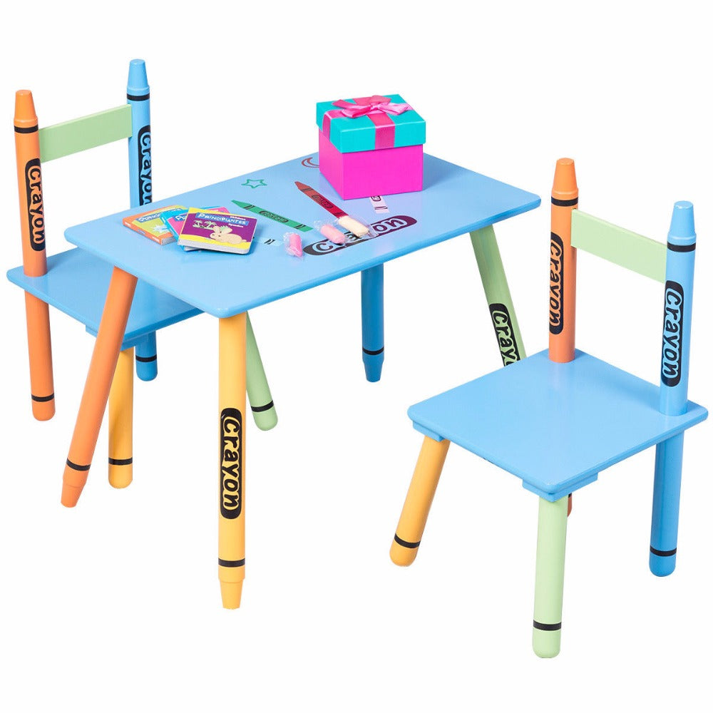 3 pc crayon furniture set