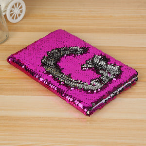 Sequin notebook
