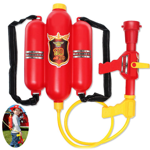 Fireman backpack water gun