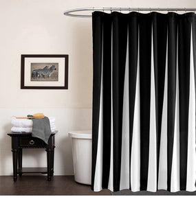 Modern shower curtain