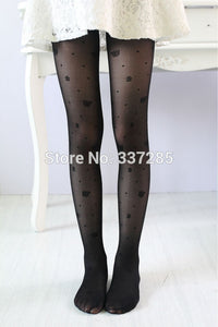 Butterflies and flowers tights