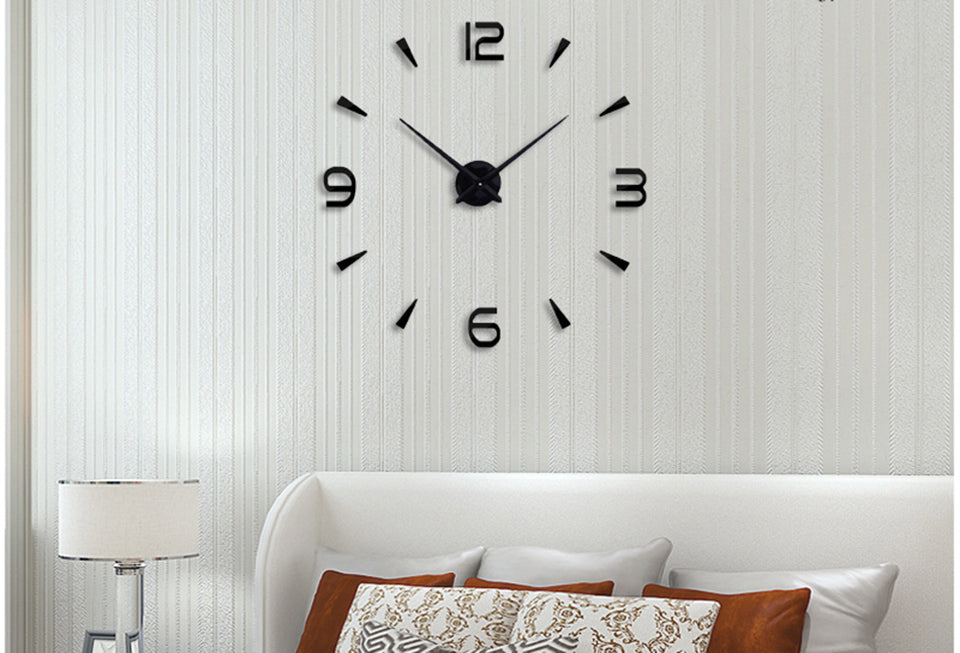 3D acrylic wall clock