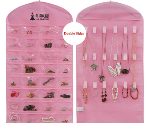 Jewelry hanging storage