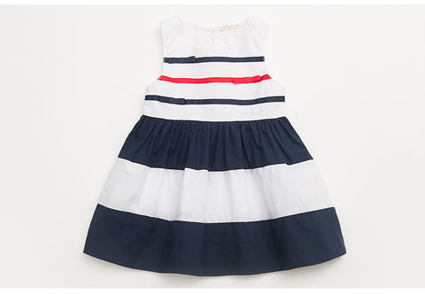 Striped bows dress