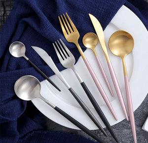 4 pc cutlery set