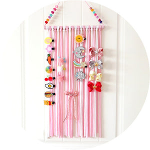 Hair clip hanging storage