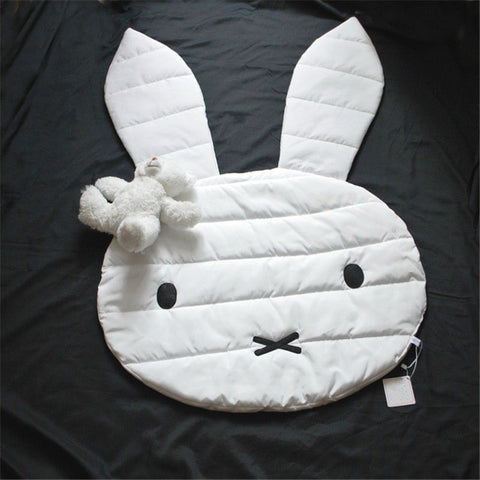 Rabbit floor mat