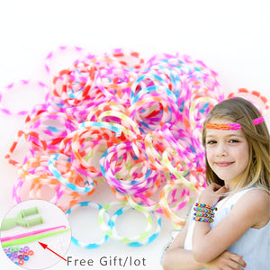 300 pc rubber loom bands