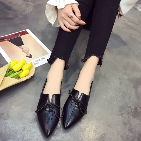 Pointed oxfords