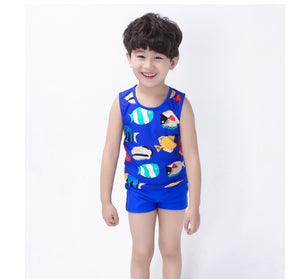 Fish swim set