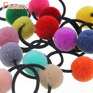 10 pc pom pom pony holders