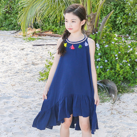 Tassel beach dress